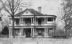 Home of Georhe W. Hairston - 1909