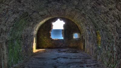 Whigs Vault, Dunnottar Castle